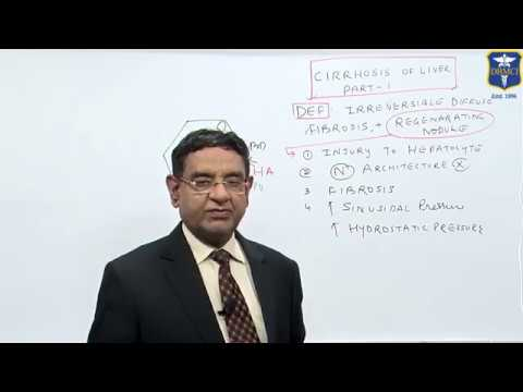 Dr Bhatia Discussing on Cirrhosis of Liver Part1 in #LastMinuteRevsionPointDiscussionSeries