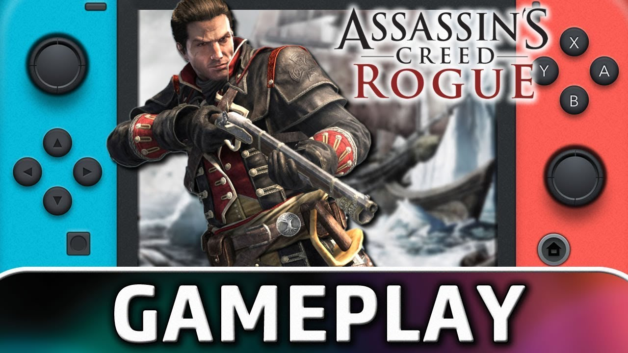 Assassin's Creed: Rogue | First 15 Minutes on Nintendo Switch