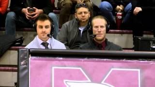 Feguson Broadcasts Basketball Doubleheader immediately following Yates Cup win