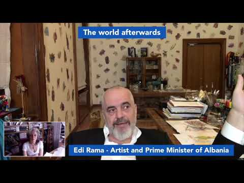 Edi Rama - Artist and Prime Minister of Albania (2)