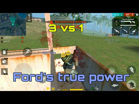 TESTING FORD'S MAX POWER [ENGLISH] | FREE FIRE BATTLEGROUNDS thumbnail