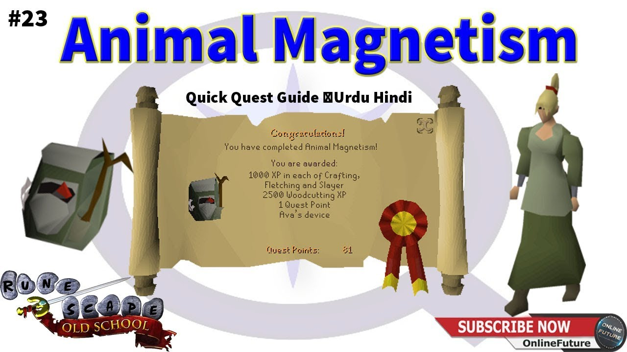 Osrs How To Complete Animal Magnetism Quest 2020 Quick Quest Guide Urdu Hindi Youtube Animal magnetism is not comparable to certain medical fads which flourished for a time and then died out. osrs how to complete animal magnetism quest 2020 quick quest guide urdu hindi
