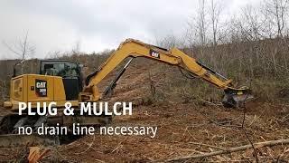 Video still for PRINOTH - M450e-1090 mulcher for 8-15 t excavators