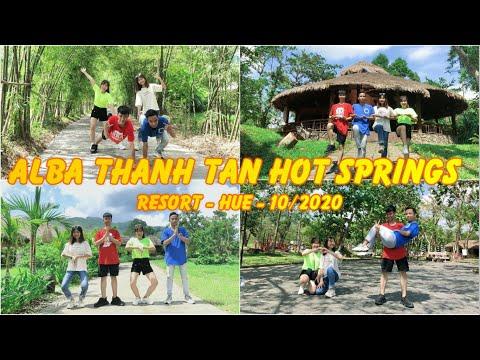 1 Ngày Tại Suối Khoáng Nóng Alba Thanh Tân - Huế | #Vlog3 - Travel With Friends |