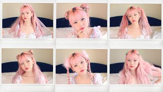 ten 5-minute quick & easy cute hairstyles for spring 🌸💕