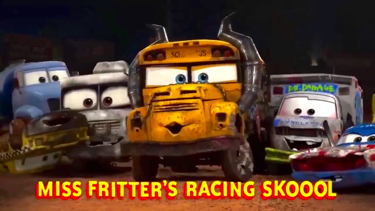 disney cars 3 exclusive mini movie trailer sends lightning