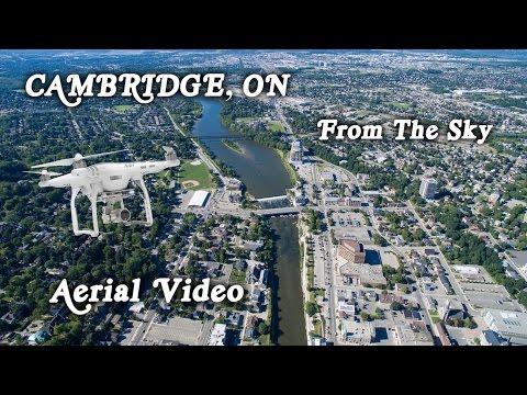 Cambridge ON - A View From The Sky - DJI Phantom 3