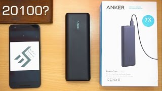 Anker PowerCore 20100 Review: Power for a week!