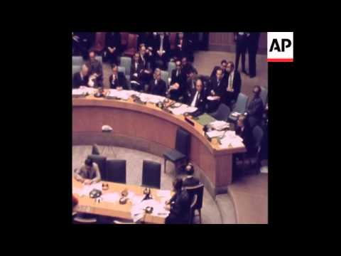 SYND 5 12 71 PAKISTANI AND INDIAN AMBASSADORS  ADDRESS THE UN SECURITY COUNCIL