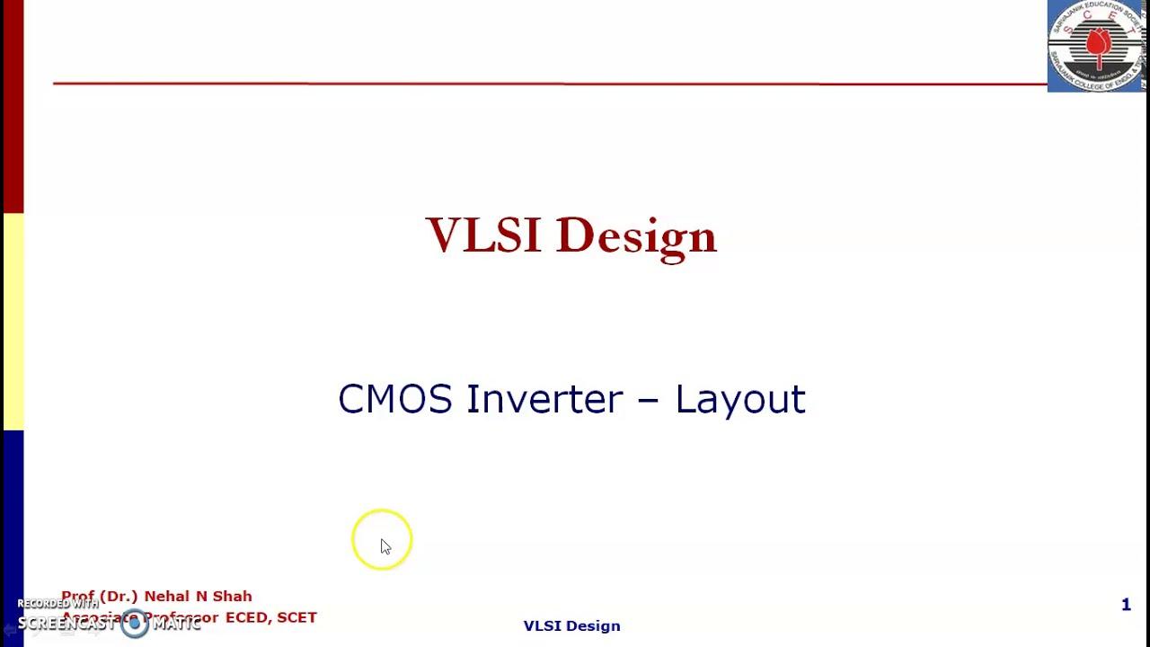 CMOS Inverter Layout Part1 - YouTube
