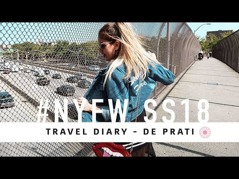 New York Fashion Week Travel Diary - De Prati