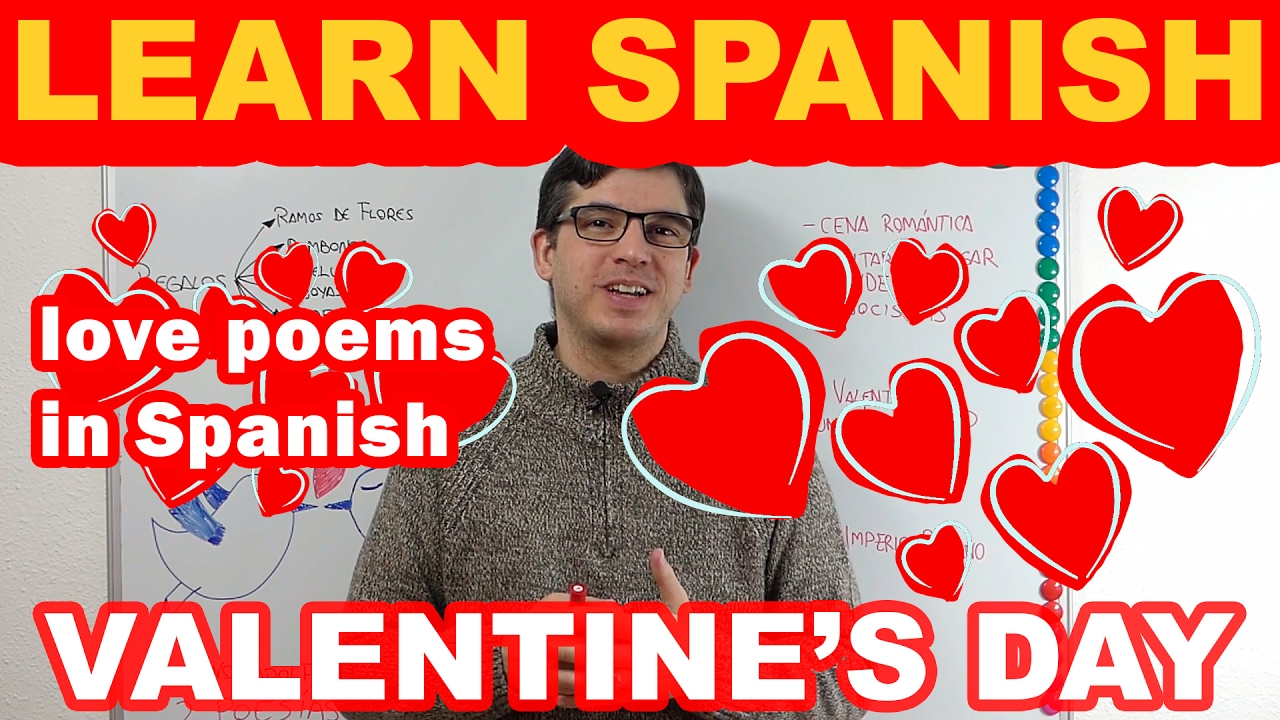 VALENTINEu0027S Day SPANISH: Learn Spanish U0026 Make Someone To Fall In Love With  You In Spanish!