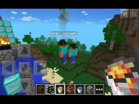 Minecraft PE Trolling/Griefing-ISH -