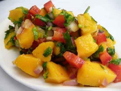 Mango Salsa (Fresh Mango Salad) Recipe | Show Me The Curry