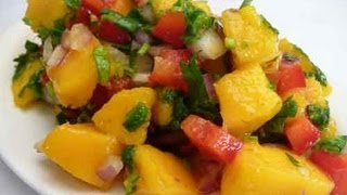 Mango Salsa (fresh Mango Salad) Recipe