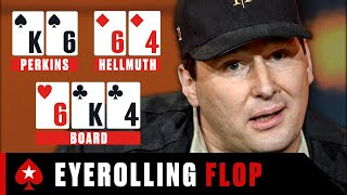 Hellmuth LOSES HIS COOL vs Perkins ♠️ Best of The Big Game ♠️ PokerStars