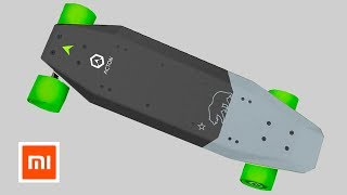 Xiaomi ACTON Electric Skateboard /RisoFan / РисоФан