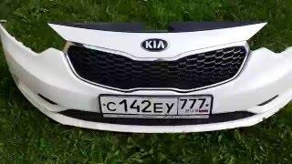 Защитная сетка радиатора на Kia Cerato 3