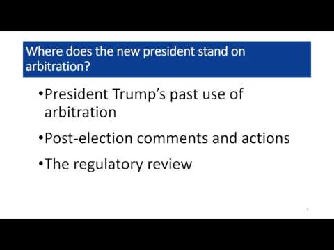 """""""Making Arbitration Great Again"""""""