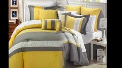 Yellow Comforter Sets Make Your Bed Look Wider And Larger