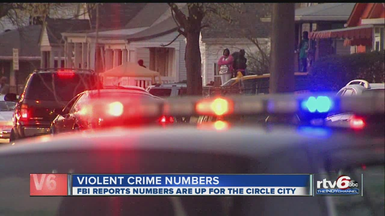 FBI: More violent crimes reported in Indianapolis since 2011