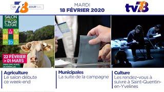 7/8 Le Journal. Edition du mardi 18 février 2020