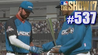 LET'S GUESS DISTANCES IN THE HOME RUN DERBY! | MLB The Show 17 | Road to the Show #537