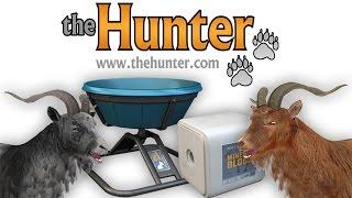 theHunter - Кормушка для КОЗЛА   Feral Goat Feeder   Обзор