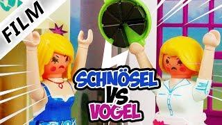 Playmobil Film deutsch SCHNÖSEL vs VOGEL Streit zwischen Nachbarn | Muss CaféFun geschlossen werden?