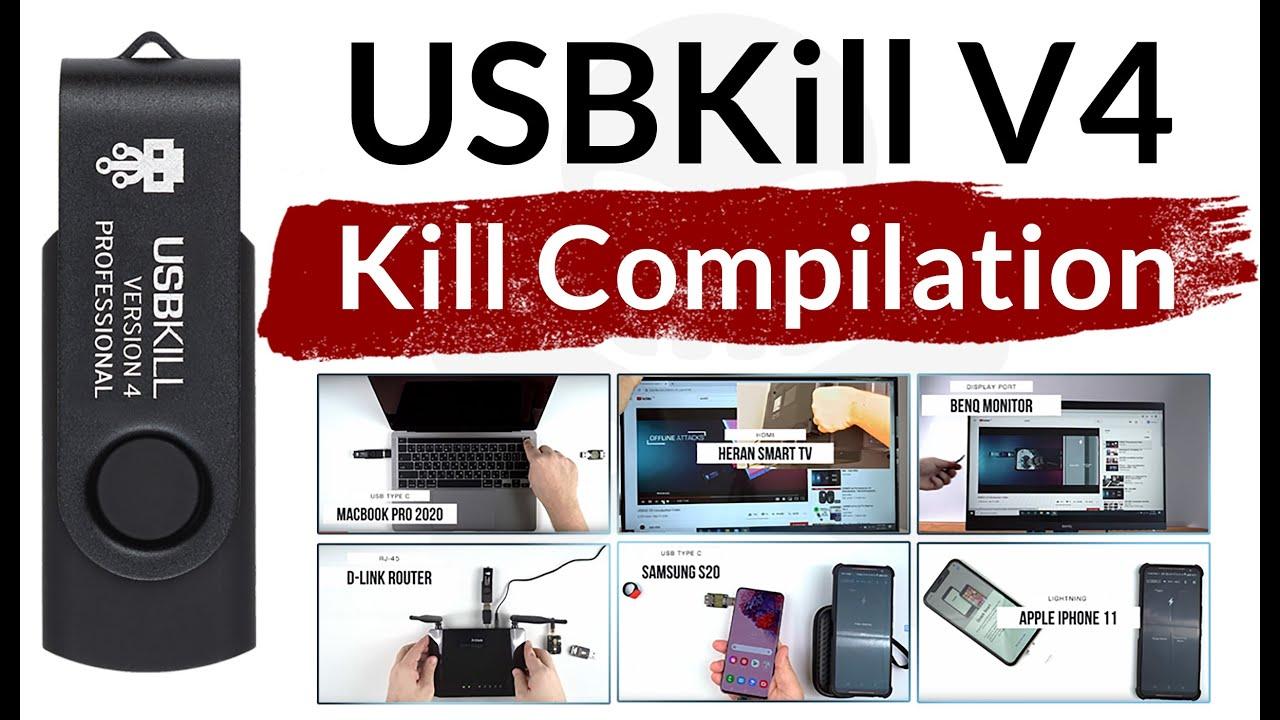 USBKill V4 testing compilation