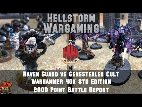 Raven Guard vs Genestealer Cult : Space Marines Warhammer