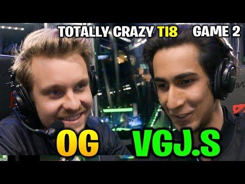 OG vs VGJ.STORM TI8 - TOTALLY AMAZING BAIT - THE INTERNATIONAL 2018 Game 2