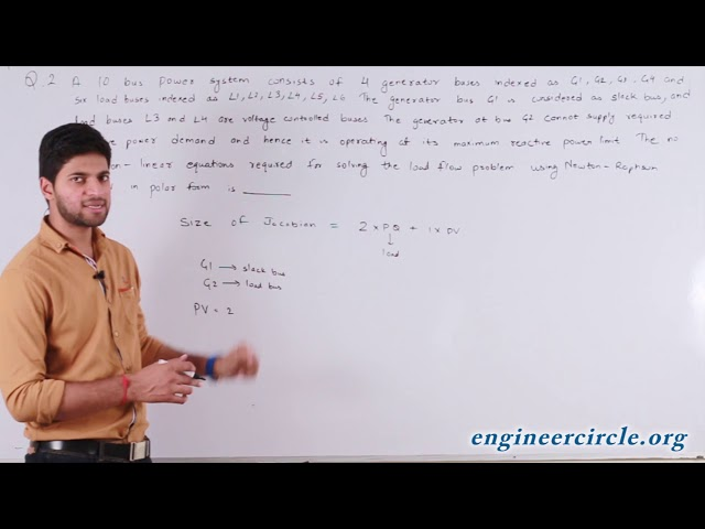 POWER SYSTEMS GATE 2017 VIDEO SOLUTION QUESTION 2