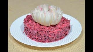 Рецепт вкусного салата со свеклой