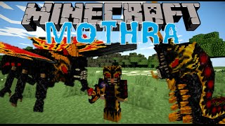 LE BOSS LE PLUS BADASS EVER !! - MOTHRA MOD Minecraft [FR] [HD]