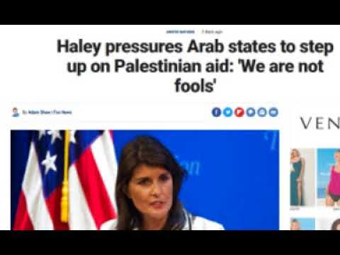 More Information Revealed About Trump Middle East Peace Plan