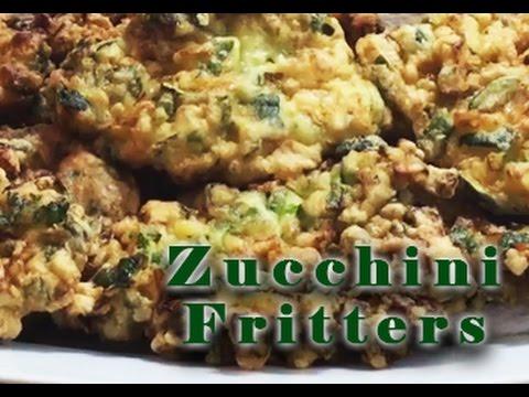 DELICIOUS Zucchini Fritters | Frittelle di Zucchine