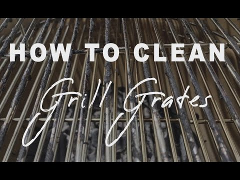 How to Clean Grill Grates SAFELY Without a Grill Brush | The Barbecue Lab 4K