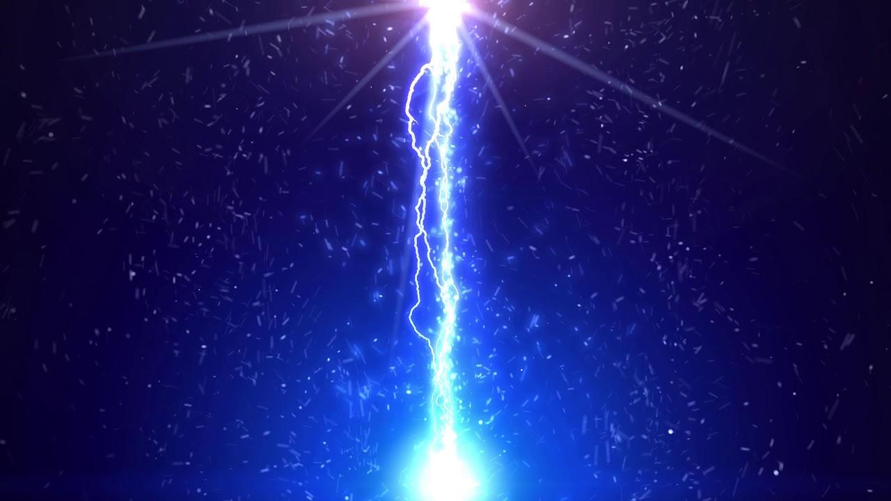 4k blue moving background lightning ribbon aavfx youtube - Lightning wallpaper 4k ...