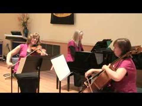 Rumba for piano trio by Peter Rorke