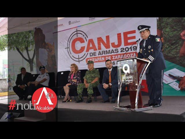 Noti Alcaldes: Inicia programa de canje de armas en Atizapán