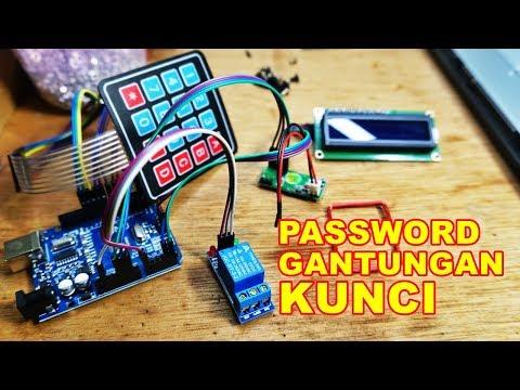 Membuat Alat Kunci Pintu Password Dan RFID VLOG162