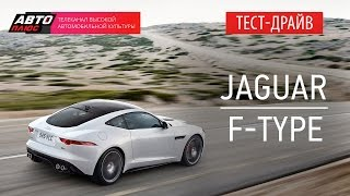 Тест-драйв - Jaguar F-Type Coupe (Наши тесты) - АВТО ПЛЮС