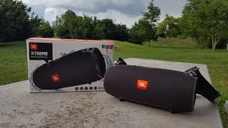 JBL XTREME Speaker Unboxing & Sound Test!