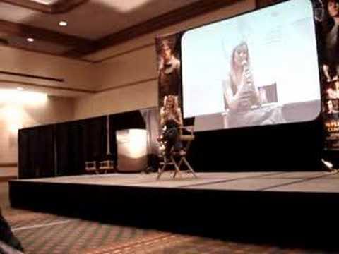 Alona Tal talks about Samantha Ferris. Dallas Con.