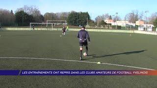 Yvelines | Les entrainements ont repris dans les clubs amateur de football