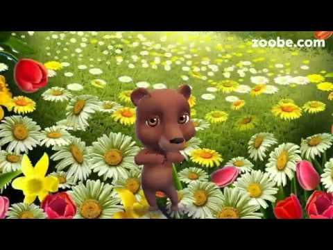 ZOOBE зайка  Поздравление с 1 Апреля для Семьи - Видео с Ютуба без ограничений