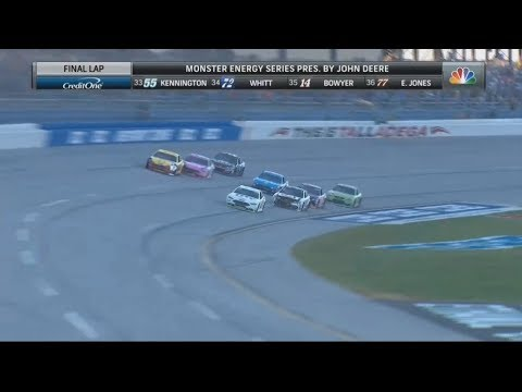 Monster Energy NASCAR Cup Series 2017. Talladega Superspeedway(2). Battle for Win