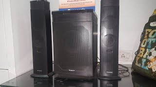Panasonic HT21 FULL REVIEW/SOUND TEST #IN HINDI(BEST BUDGET HOME THEATRE)