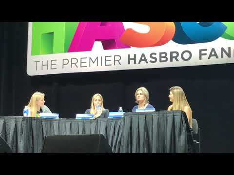 HASCON 2017 - My Little Pony Panel with the voices of sunset shimmer, spike the dragon & pinkie pie